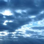 今日は曇り空〜♪