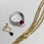 K18 ネックレス イヤリング 指輪 買取実績のご紹介