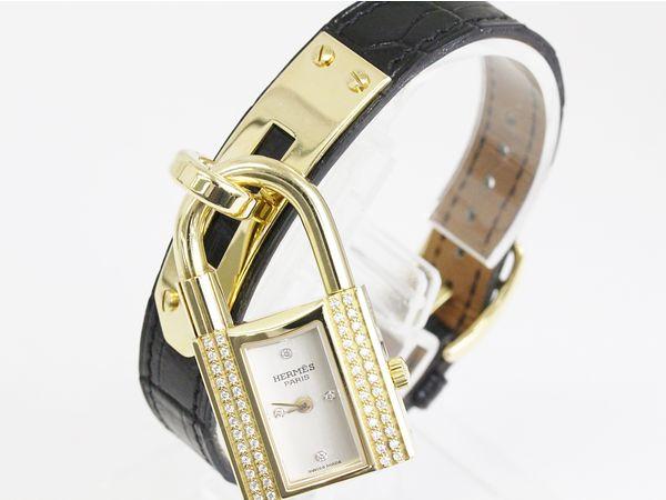pretty nice ac261 8a77d 個性的で女性人気が高い腕時計!エルメス ケリーウォッチ ...