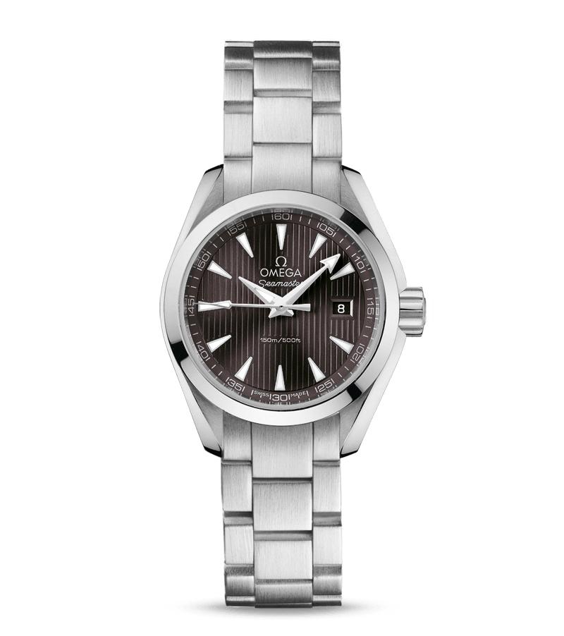 OMEGA オメガ シーマスター アクアテラ クォーツ 231.10.30.60.06.001 レディース腕時計 買取実績のご紹介