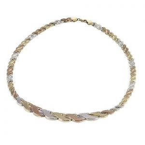 9ct-yellow-white-and-rose-gold-necklace