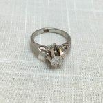 プラチナ Pt850 0.26ctダイヤ付き 指輪 買取実績のご紹介
