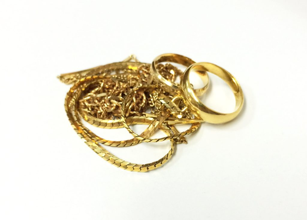 K18_ネックレス指輪