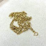 金 K18 ネックレス 買取実績のご紹介