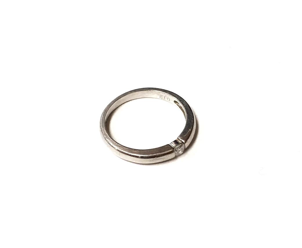 プラチナ Pt900 ダイヤモンド 指輪 買取実績のご紹介