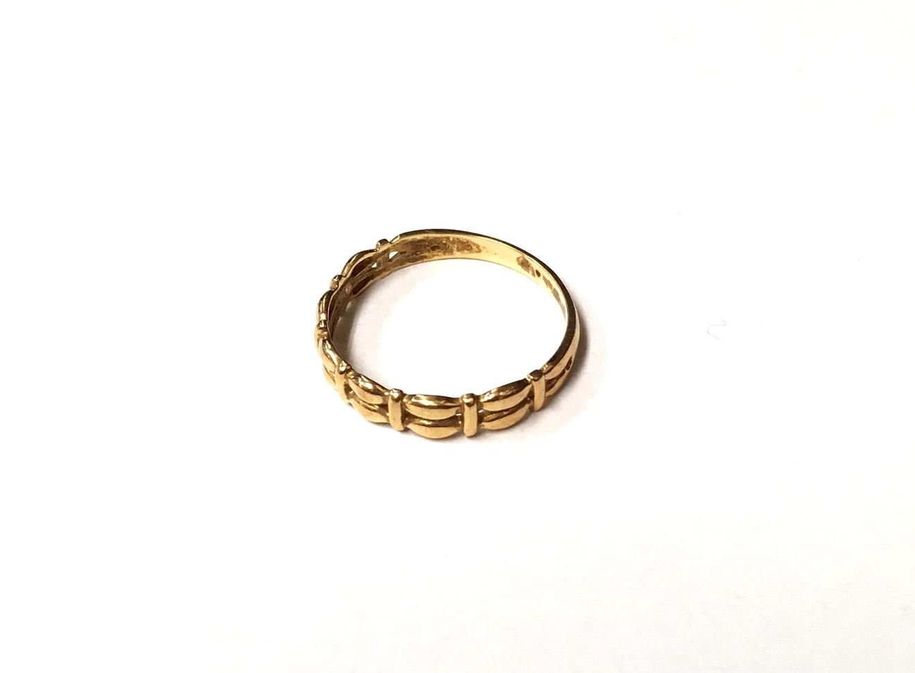 金 K18 指輪 買取実績のご紹介