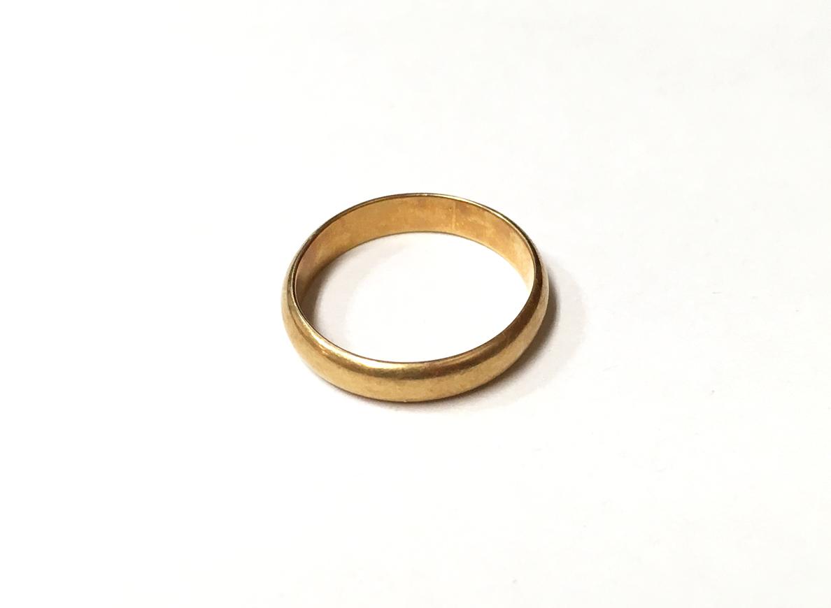 金 K22 指輪 買取実績のご紹介